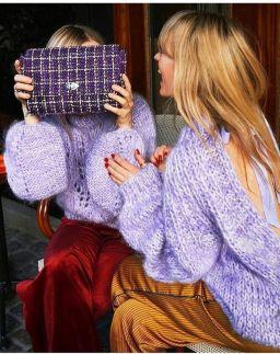 Comment porter la couleur lilas?
